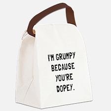 Grumpy Dopey Canvas Lunch Bag
