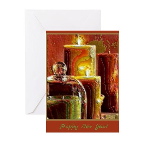 Happy New Year Holiday Light Greeting Cards (10)
