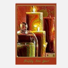 Happy New Year Holiday Light Postcards (8)