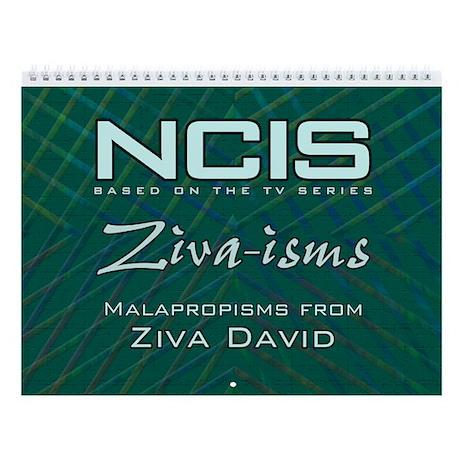 NCIS Ziva-isms Calendar