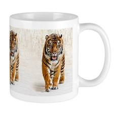 Tiger walking Mugs