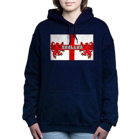 England Lion Flag Hooded Sweatshirt
