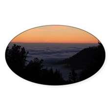 Sunset at Shelter Cove Decal