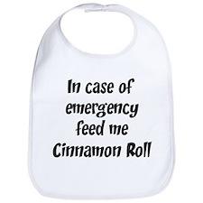 Feed me Cinnamon Roll Bib