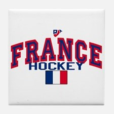 FR France Hockey Tile Coaster
