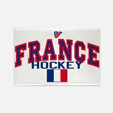 FR France Hockey Rectangle Magnet