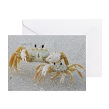 Crabby Greeting Card