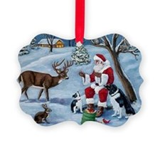 Santa's Christmas Treats Ornament