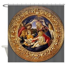 Sandro Botticelli Magnificat Shower Curtain