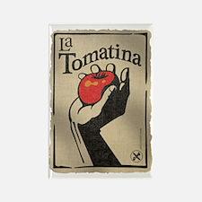 La Tomatina Rectangle Magnet