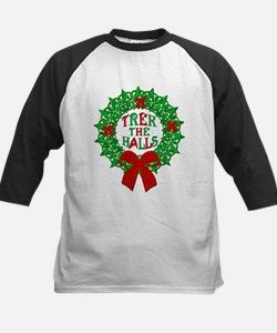 Trek the Halls Wreath Christmas Classic Baseball J
