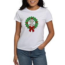 Trek the Halls Wreath Christmas Classic T-Shirt