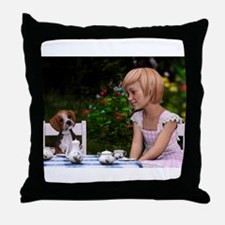 My Best Friend And Me Throw Pillow