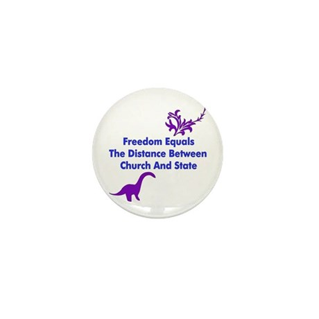 Separation Of Church And State Mini Button (10 pac