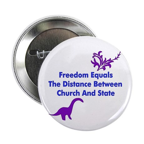 """Separation Of Church And State 2.25"""" Button (100 p"""
