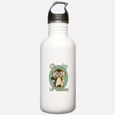 Cheeky Lil Monkey Water Bottle