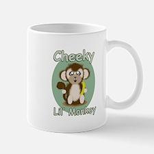 Cheeky Lil Monkey Mugs