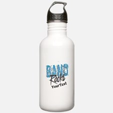 BAND Optional Text Water Bottle