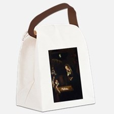 Nativity at Night Canvas Lunch Bag