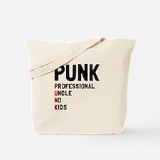 Punk Professional Uncle Tote Bag