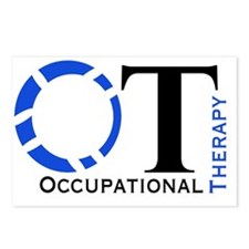 OT Occupational Therapy Postcards (Package of 8)