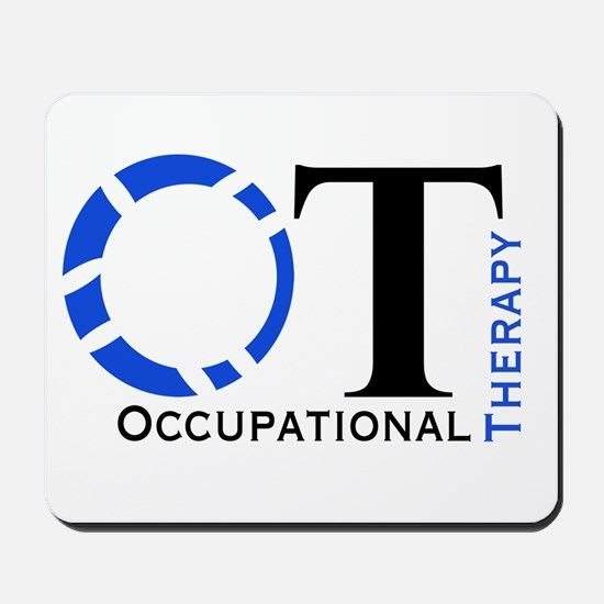 OT Occupational Therapy Mousepad