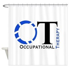 OT Occupational Therapy Shower Curtain