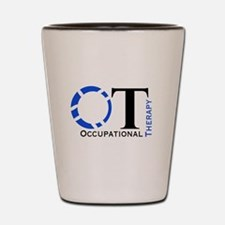 OT Occupational Therapy Shot Glass