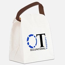 OT Occupational Therapy Canvas Lunch Bag