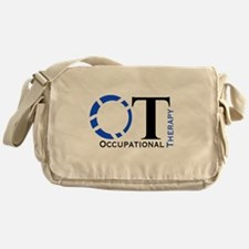 OT Occupational Therapy Messenger Bag