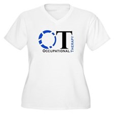 OT Occupational Therapy Plus Size T-Shirt