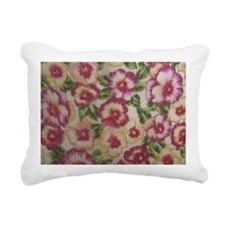 Pansies Rectangular Canvas Pillow