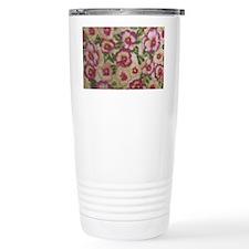 Pansies Travel Coffee Mug