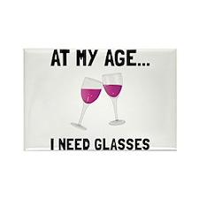 Wine Glasses Magnets