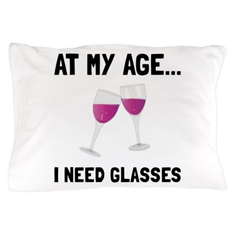 Wine Glasses Pillow Case