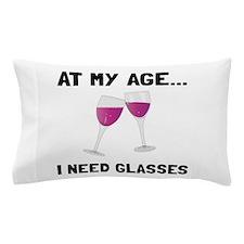 Wine Glasses Pillow Case