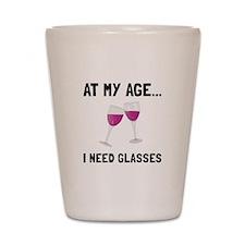 Wine Glasses Shot Glass