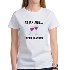 Wine Glasses T-Shirt