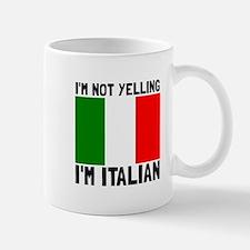 Yelling Italian Mugs
