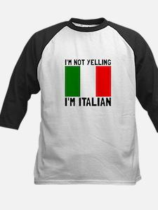 Yelling Italian Baseball Jersey