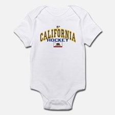 Cali Gold Hockey Infant Bodysuit