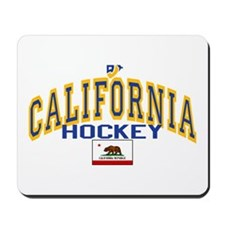 Cali Gold Hockey Mousepad