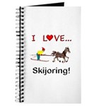 Skijoring Horse Journal