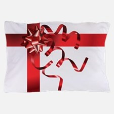 RED BOW Pillow Case