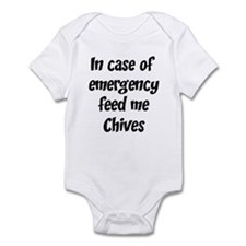 Feed me Chives Infant Bodysuit