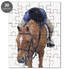 Snowy Winter Pony Puzzle