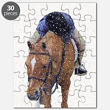 Snowy Winter Pony Puzzle