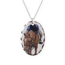 Snowy Winter Pony Necklace