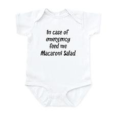 Feed me Macaroni Salad Infant Bodysuit