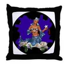 YEMAYA CUSTOMIZABLE Throw Pillow